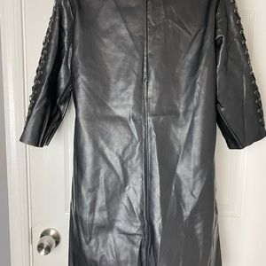 Zara Dresses - Zara Leather Dress
